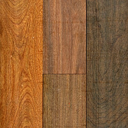 3/4 x 5 Brazilian Walnut Unfinished Solid Hardwood Flooring